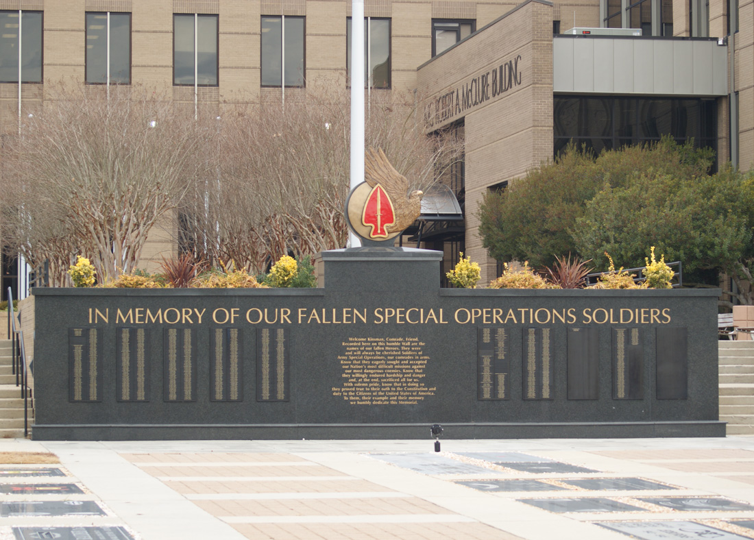 USASOC Memorial