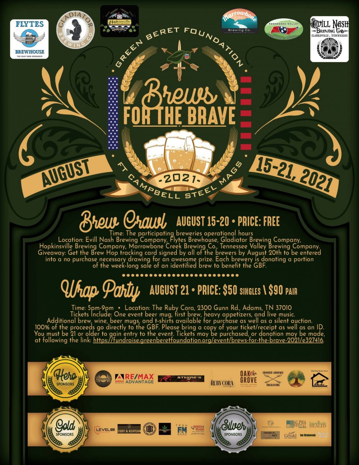 brews for the brave